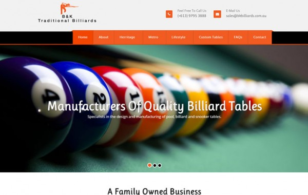 B & K Billiards