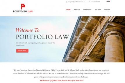 Portfolio Law